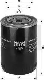 Mann-Filter w7124 - Фильтр, Гидравлическая система привода рабочего оборудования autodnr.net
