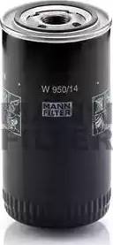 Mann-Filter W 950/14 - Масляний фільтр autocars.com.ua