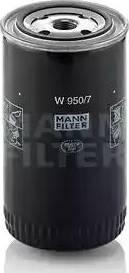 Mann-Filter w9507 - Фильтр, Гидравлическая система привода рабочего оборудования autodnr.net