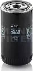Mann-Filter W 950 - Масляний фільтр autocars.com.ua
