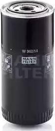 Mann-Filter w96214 - Фильтр, Гидравлическая система привода рабочего оборудования autodnr.net