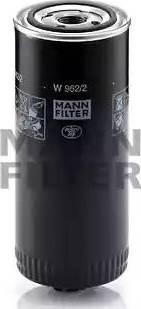 Mann-Filter W 962/2 - Масляний фільтр autocars.com.ua