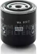 Mann-Filter WA 923/2 - Фільтр для охолоджуючої рідини autocars.com.ua