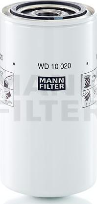 Mann-Filter WD 10 020 - Фільтр, Гідравлічна система приводу робочого устаткування autocars.com.ua