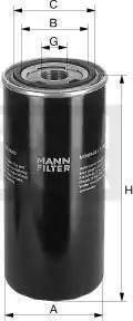 Mann-Filter wd9502 - Фильтр, Гидравлическая система привода рабочего оборудования autodnr.net