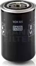 Mann-Filter WDK 925 - Паливний фільтр autocars.com.ua