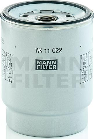 Mann-Filter WK 11 022 z - Паливний фільтр autocars.com.ua