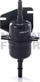 Mann-Filter WK 510 - Паливний фільтр autocars.com.ua