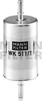Mann-Filter WK 511/1 - Топливный фильтр autodnr.net