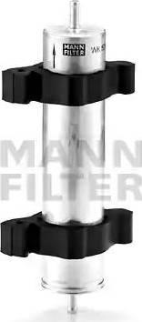 Mann-Filter WK 521/2 - Паливний фільтр autocars.com.ua