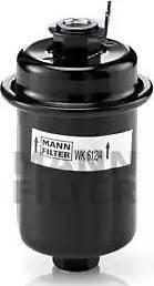 Mann-Filter WK 612/4 - Паливний фільтр autocars.com.ua