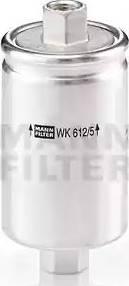 Mann-Filter WK 612/5 - Паливний фільтр autocars.com.ua