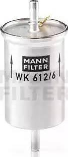Mann-Filter WK 612/6 - Паливний фільтр autocars.com.ua