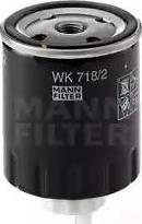 Mann-Filter WK 718/2 - Паливний фільтр autocars.com.ua