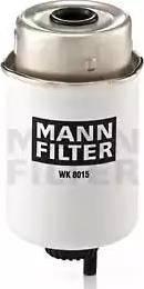 Mann-Filter WK 8015 - Паливний фільтр autocars.com.ua