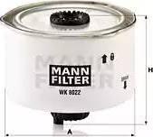 Mann-Filter WK 8022 x - Паливний фільтр autocars.com.ua