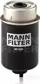 Mann-Filter WK 8102 - Паливний фільтр autocars.com.ua
