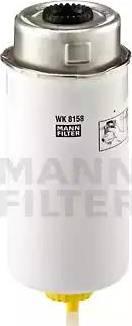Mann-Filter WK 8158 - Паливний фільтр autocars.com.ua