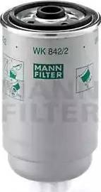 Mann-Filter WK 842/2 - Паливний фільтр autocars.com.ua