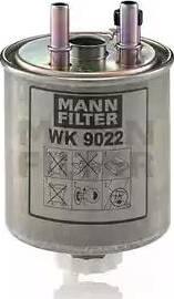 Mann-Filter WK 9022 - Паливний фільтр autocars.com.ua