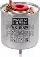 Mann-Filter WK 9034 z - Паливний фільтр autocars.com.ua