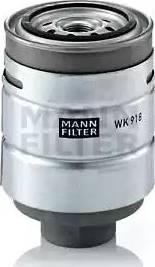 Mann-Filter WK 918 x - Паливний фільтр autocars.com.ua