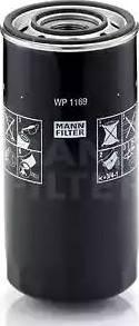 Mann-Filter WP 1169 - Масляний фільтр autocars.com.ua