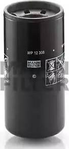Mann-Filter WP 12 308 - Масляний фільтр autocars.com.ua