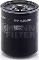 Mann-Filter WP 920/80 - Масляний фільтр autocars.com.ua