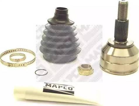 Mapco 16762 - Шарнирный комплект, приводной вал autodnr.net