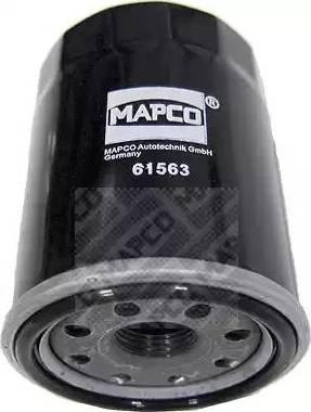 Mapco 61563 - Масляний фільтр autocars.com.ua