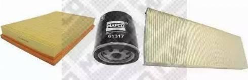 Mapco 68711 - Комплект фильтра avtokuzovplus.com.ua