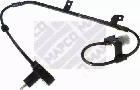 Mapco 86525 - Датчик ABS, частота вращения колеса autodnr.net