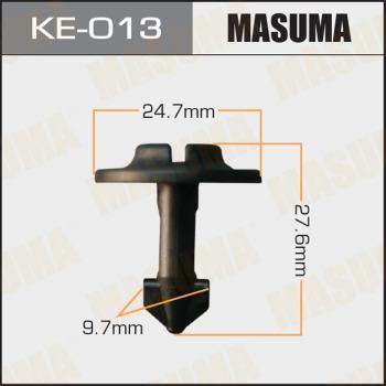 MASUMA KE013 - Зажим, молдинг / защитная накладка car-mod.com