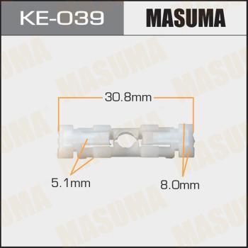 MASUMA KE-039 - Зажим, молдинг / защитная накладка car-mod.com