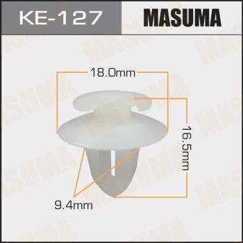 MASUMA KE127 - Зажим, молдинг / защитная накладка car-mod.com