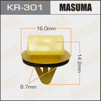 MASUMA KR301 - Зажим, молдинг / защитная накладка car-mod.com