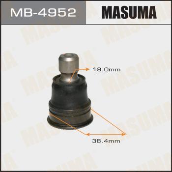 MASUMA MB-4952 - Шаровая опора, несущий / направляющий шарнир car-mod.com