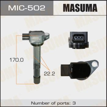MASUMA MIC502 - Катушка зажигания avtokuzovplus.com.ua
