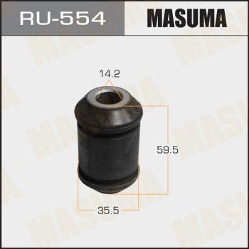 MASUMA RU554 - Сайлентблок, рычаг подвески колеса car-mod.com