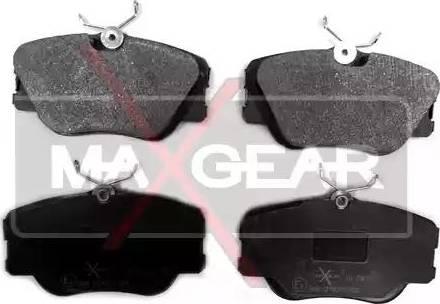 Maxgear 19-0479 - Тормозные колодки, дисковые car-mod.com