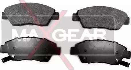 Maxgear 19-0573 - Тормозные колодки, дисковые car-mod.com