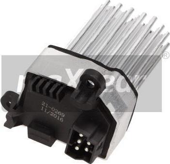 Maxgear 21-0269 - Регулятор, вентилятор салона car-mod.com