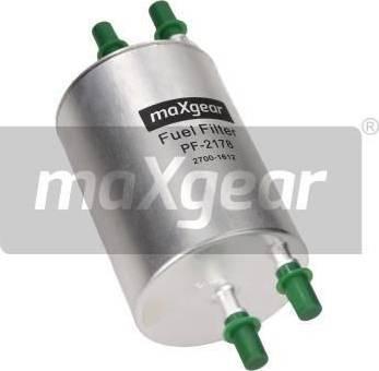 Maxgear 26-1138 - Паливний фільтр autocars.com.ua