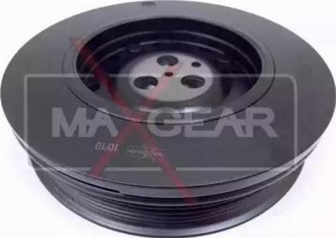 Maxgear 30-0018 - Ремінний шків, колінчастий вал autocars.com.ua