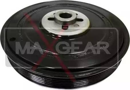 Maxgear 30-0050 - Ремінний шків, колінчастий вал autocars.com.ua