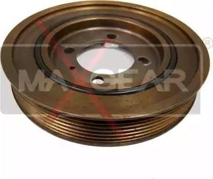 Maxgear 30-0064 - Ремінний шків, колінчастий вал autocars.com.ua