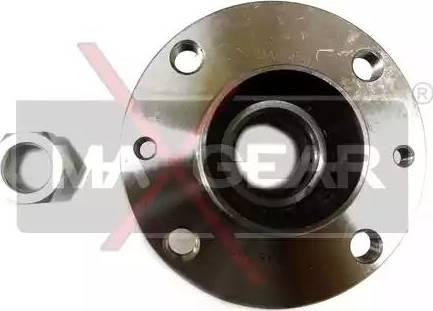 Maxgear 33-0019 - Комплект підшипника маточини колеса autocars.com.ua