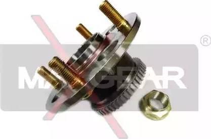 Maxgear 33-0080 - Комплект підшипника маточини колеса autocars.com.ua