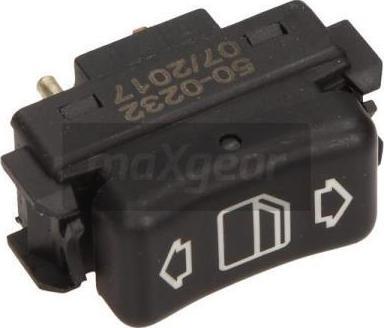 Maxgear 500232 - Выключатель, стеклоподъемник car-mod.com